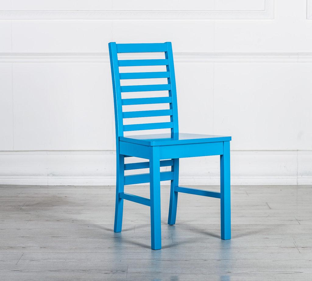 sedie in legno colorate