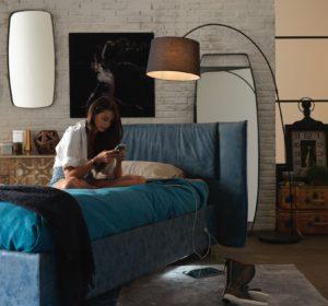 camera da letto hi-tech