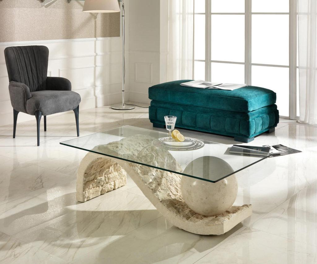 tavolini da salotto in pietra