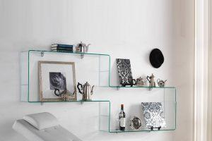 Complementi d'arredo in vetro curvato: eleganza e stile per gli ambienti della casa
