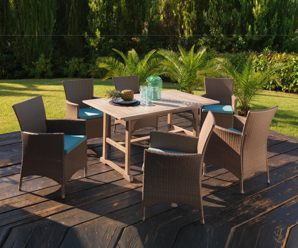 Come arredare il giardino di casa con tavoli e sedie for Arredare il giardino