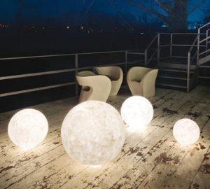 Come illuminare un giardino