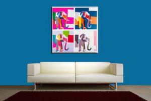 Come arredare il soggiorno con i quadri moderni: 3 consigli preziosi