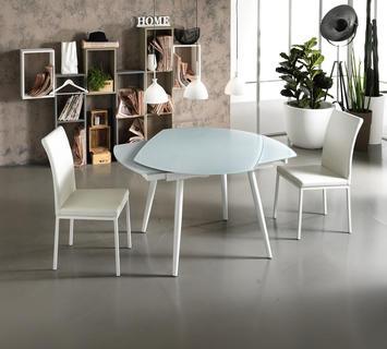 Occupa meno spazio un tavolo rotondo o uno quadrato?