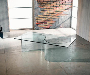 Come arredare con complementi in vetro