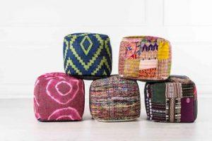 Soluzioni originali e divertenti per l'arredamento di casa: i pouf e le poltrone sacco di design