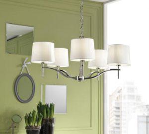 Come abbinare due lampadari nella stessa stanza