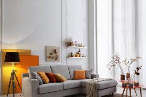 Divani fissi per la zona living: il design oltre la funzionalità