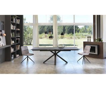 sedie in tessuto moderne