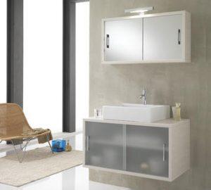 a che altezza posizionare lo specchio del bagno