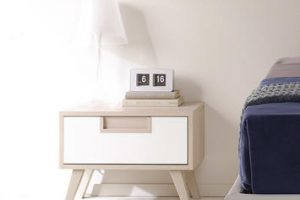 Comodini per la camera da letto: 5 complementi dal design moderno