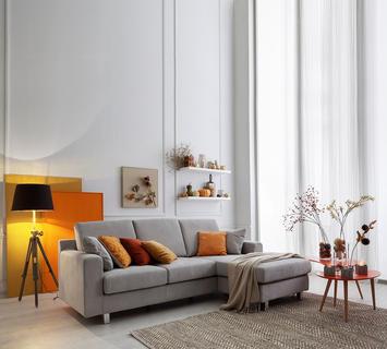 come disporre i divani in soggiorno